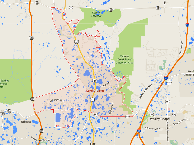 land o lakes map Land O Lakes Homes For Sale Map Search Tampahomessold Com land o lakes map