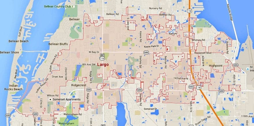 Largo Homes For Sale Map Search