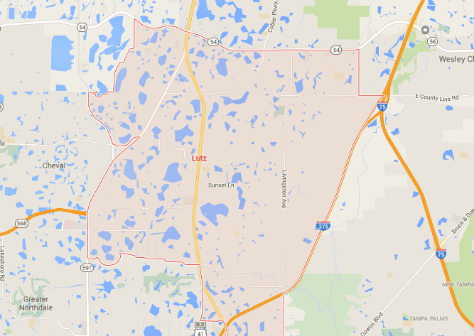 Lutz Florida Map.Lutz Homes For Sale Map Search Tampahomessold Com