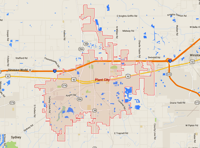 Plant City Florida Map.Plant City Homes For Sale Map Search Tampahomessold Com