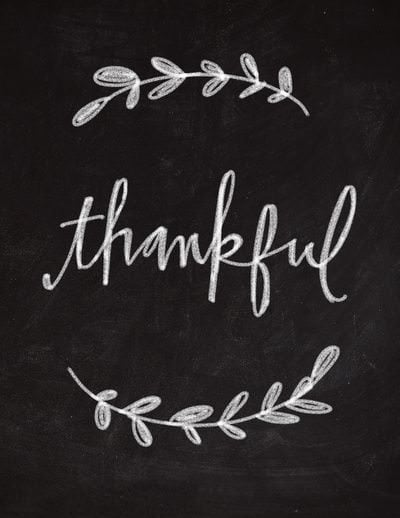 what is thankful mean