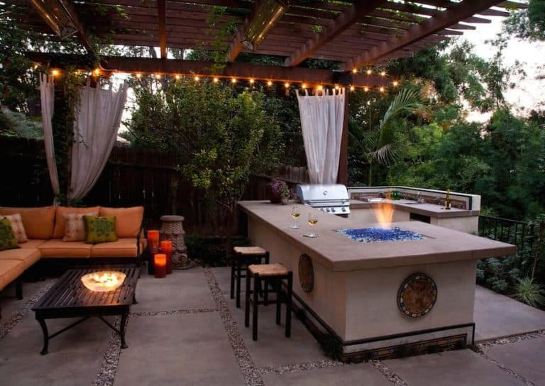 Look for a Home that has the Ultimate Backyard BBQ Area