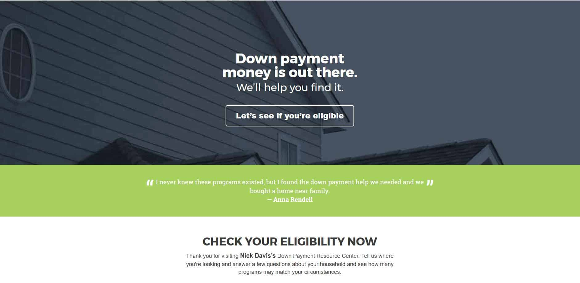 Down Payment Connect