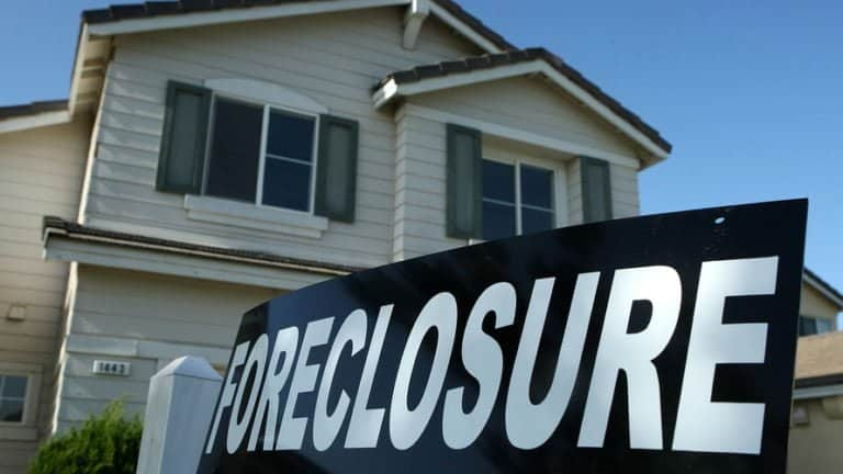 Foreclosed homes drop to 12-year low
