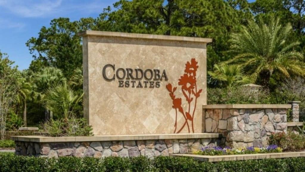 Cordoba Estates Community Lutz FL