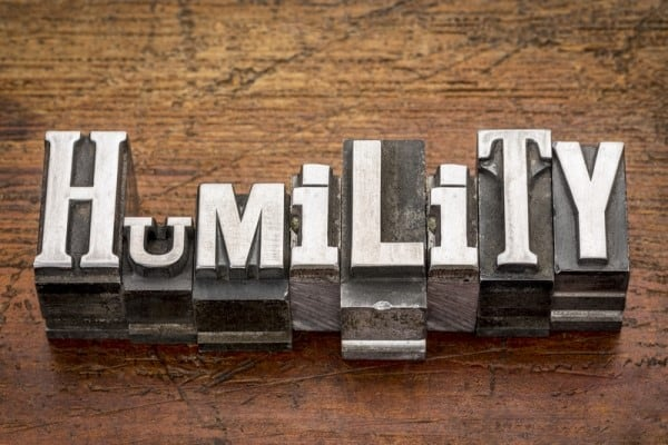 It Starts with Humility