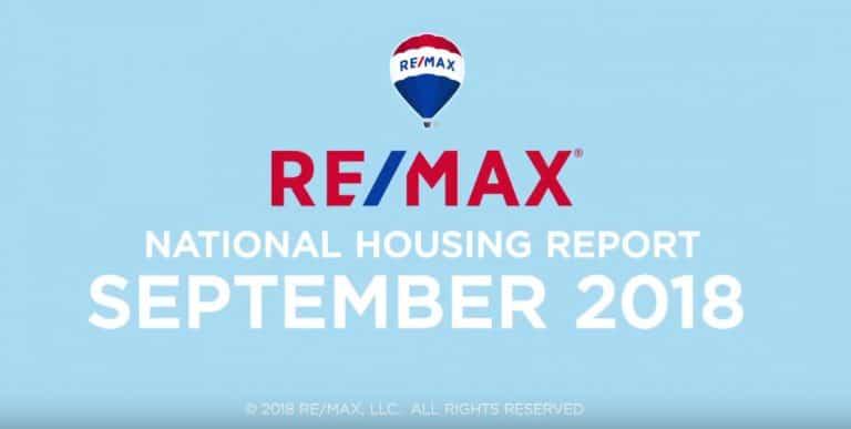 REMAX National Housing Report September