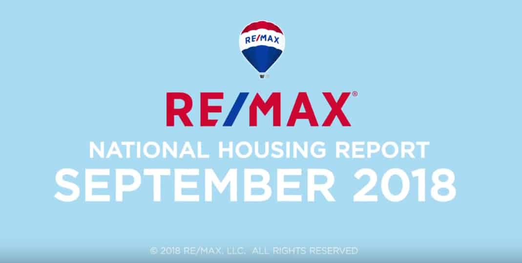 September 2018 RE/MAX National Housing Report