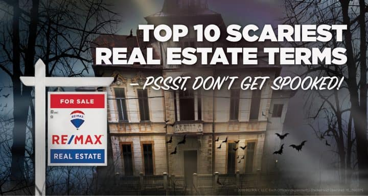 Top 10 SCARIEST Real Estate Terms - Pssst, Don't Get Spooked!