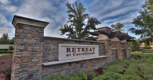 Retreat at Carrollwood Community Tampa FL