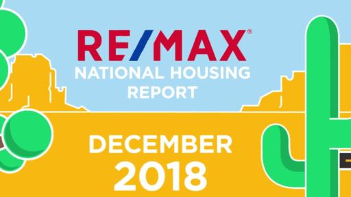 remax national housing report december 2018
