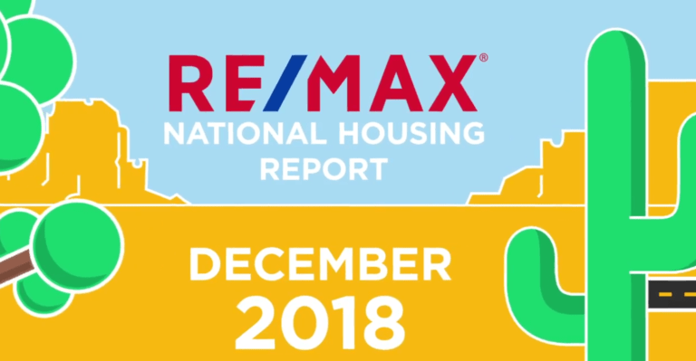 remax national housing report december 2018