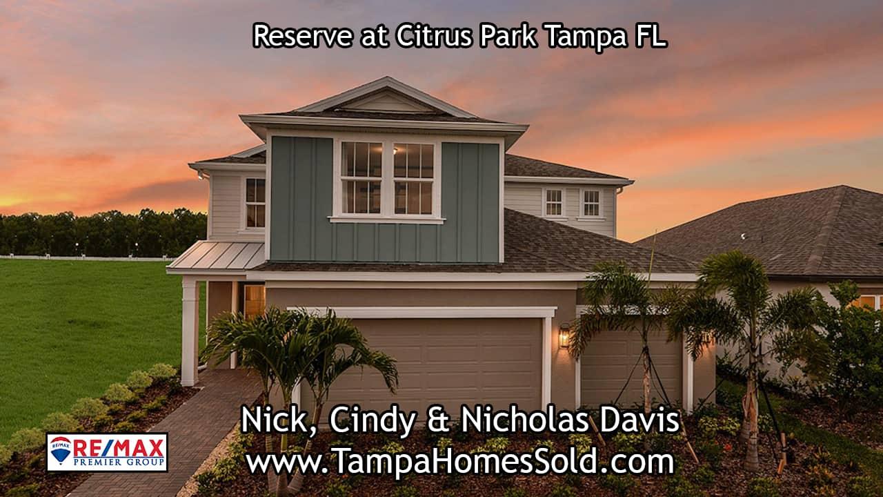 Reserve at Citrus Park Community Tampa FL