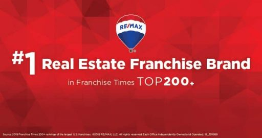 RE/MAX is No. 1 Real Estate Franchise Brand