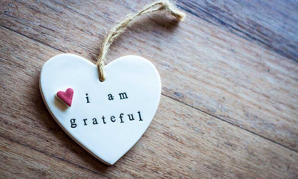 November 2019 – Gratitude